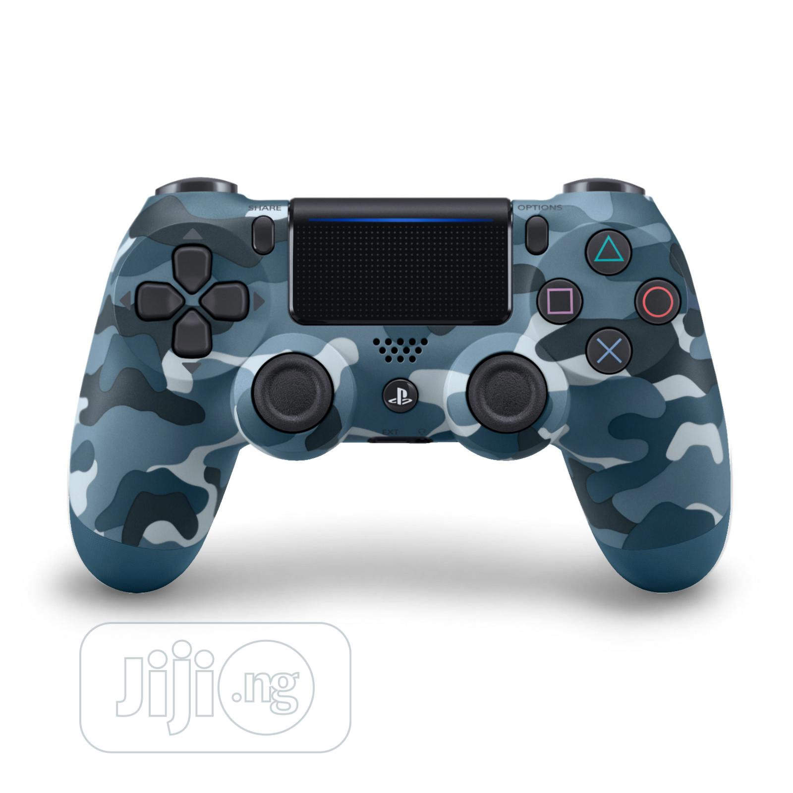 Sony Ps4 Game Pad Dual Shock 4 Wireless Controller-Blue Carm | Accessories & Supplies for Electronics for sale in Ikeja, Lagos State, Nigeria