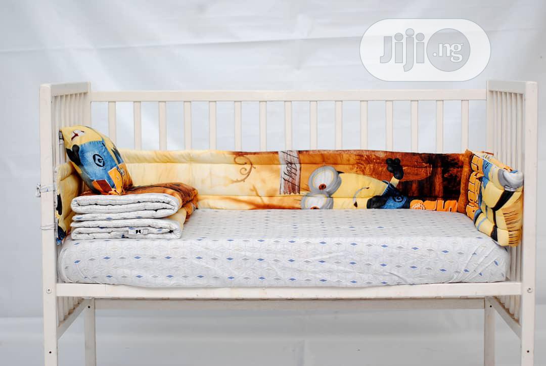 7pcs Baby Crib Bedding Set   Babies & Kids Accessories for sale in Ikeja, Lagos State, Nigeria