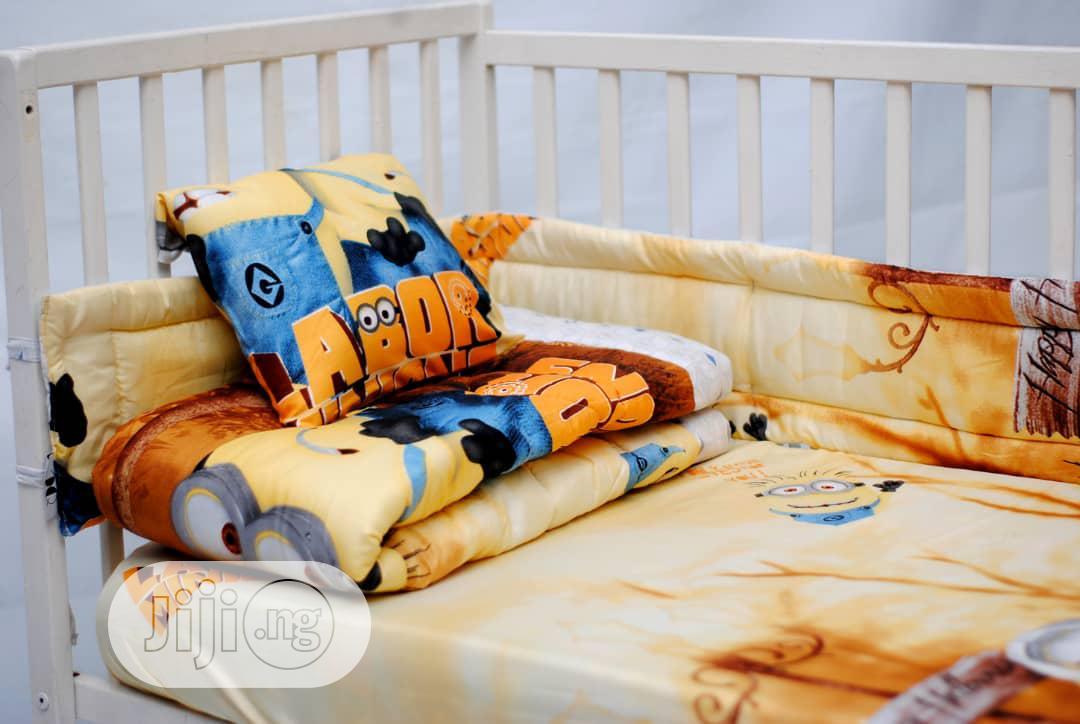 7pcs Baby Crib Bedding Set