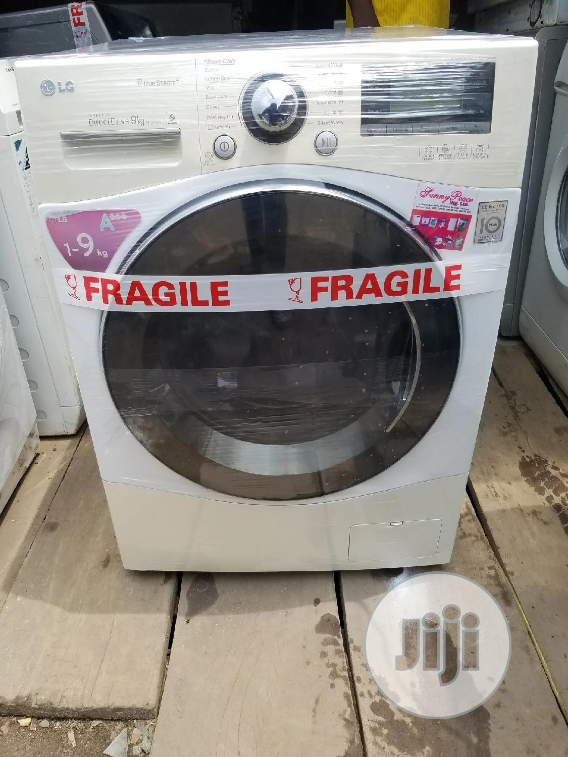 Lg Washing Machine 9kg | Home Appliances for sale in Surulere, Lagos State, Nigeria