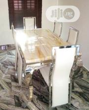 Dining Table Six Sitters Marble | Furniture for sale in Lagos State, Ajah