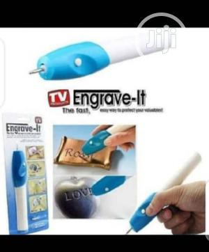 Engraver Engraving Pen/ Electric Etching Jewellery Glass Metal Plastic | Stationery for sale in Lagos State, Lagos Island (Eko)