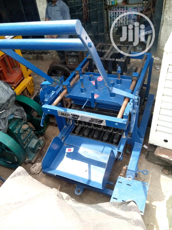 Block Molding Machine   Manufacturing Equipment for sale in Amuwo-Odofin, Lagos State, Nigeria