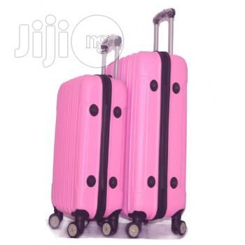 4 Wheel ABS Woman Luggage Travel Bag Rolling Luggage
