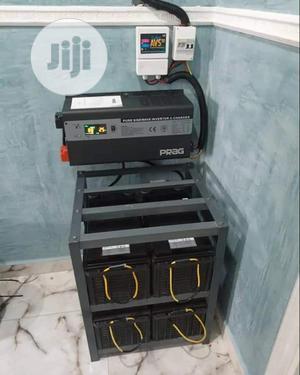 3.5kv Inverter (4)200ah Battery 200watts Solar Panels 8 Installation