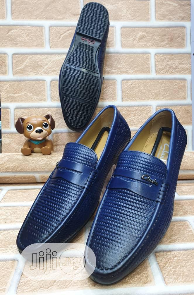 Check Out This Brown Leather Clarks Design Made for You.   Shoes for sale in Lagos Island, Lagos State, Nigeria