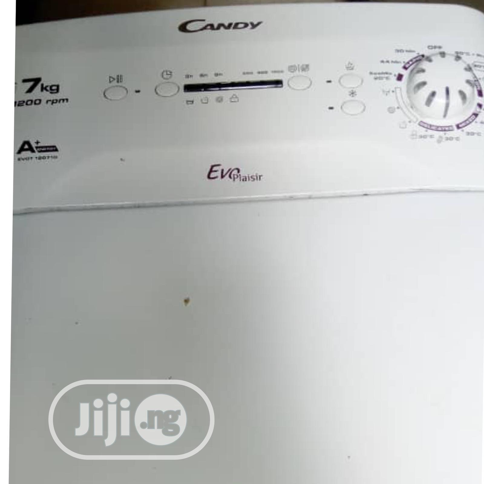 Industrial Washing Machine White