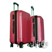 4 Wheel ABS Luggage Travel Bag Rolling Luggage (Red)   Bags for sale in Lagos State