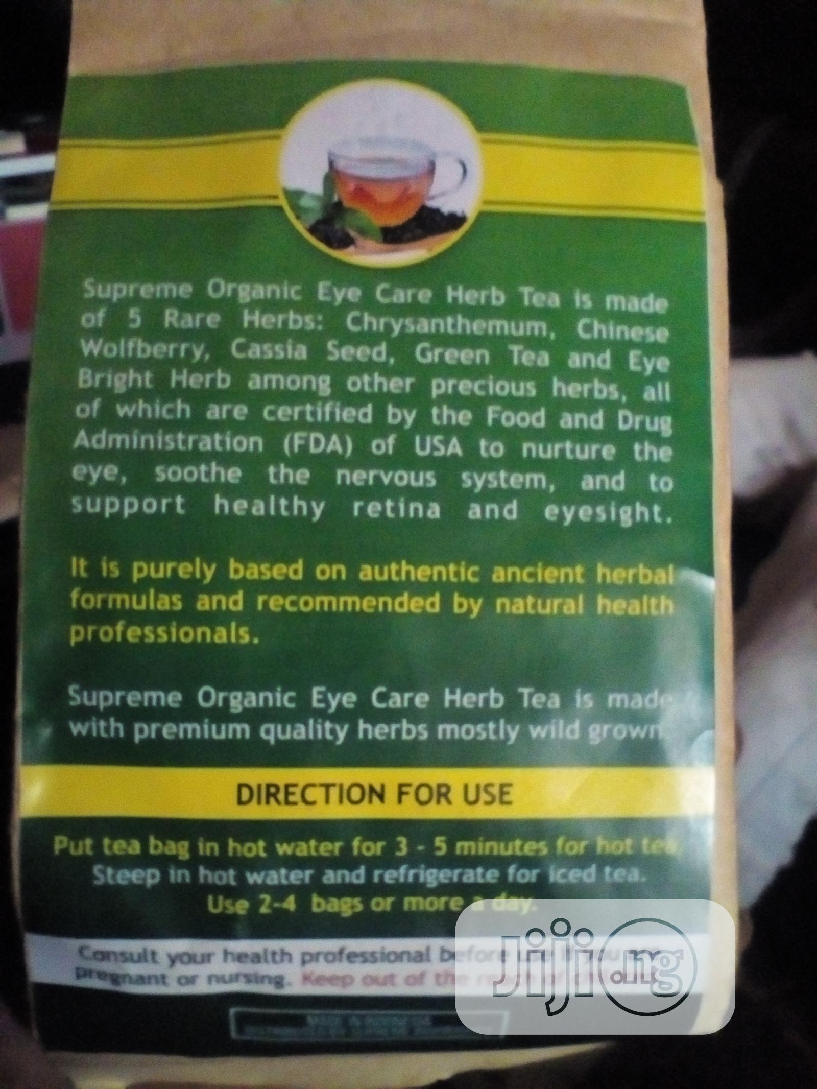 Supreme Clear Eye Tea | Vitamins & Supplements for sale in Jos, Plateau State, Nigeria
