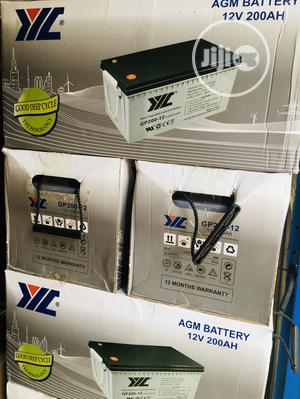200ah 12v JYC Solar Battery Available With 1yr Warranty | Solar Energy for sale in Lagos State, Amuwo-Odofin