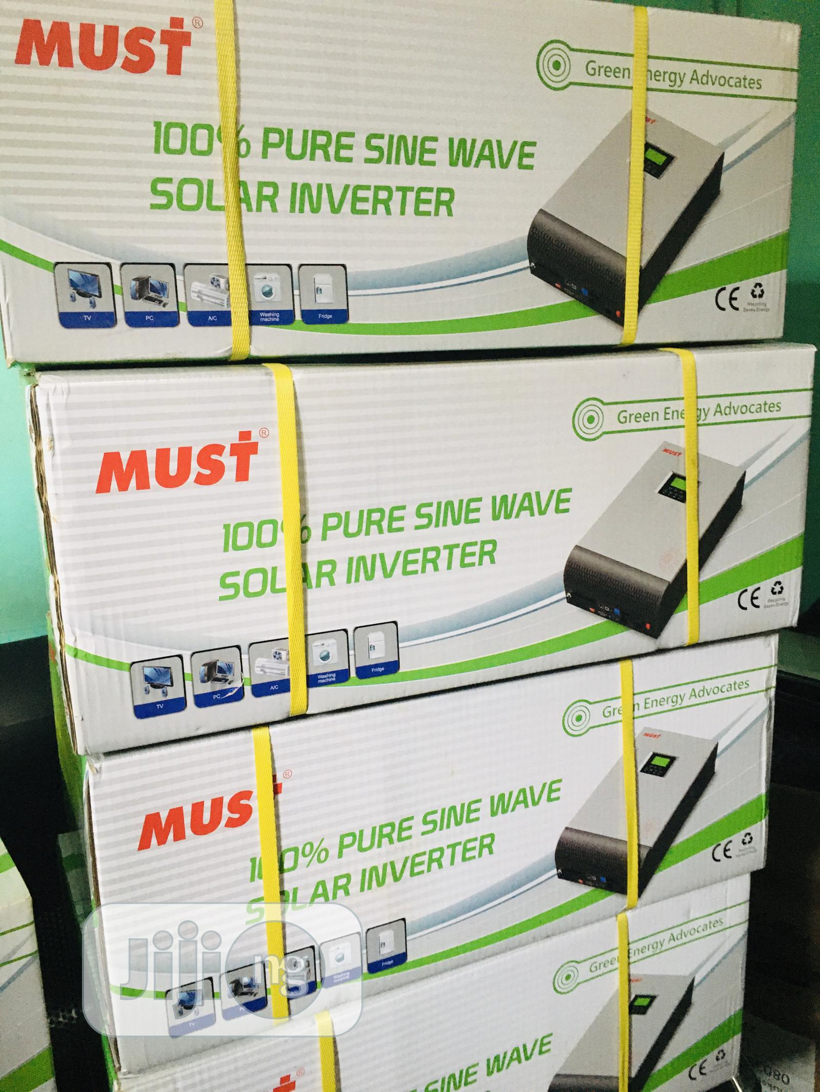 5kva 48v MUST Hybrid Inverter Available With 1yr Warranty