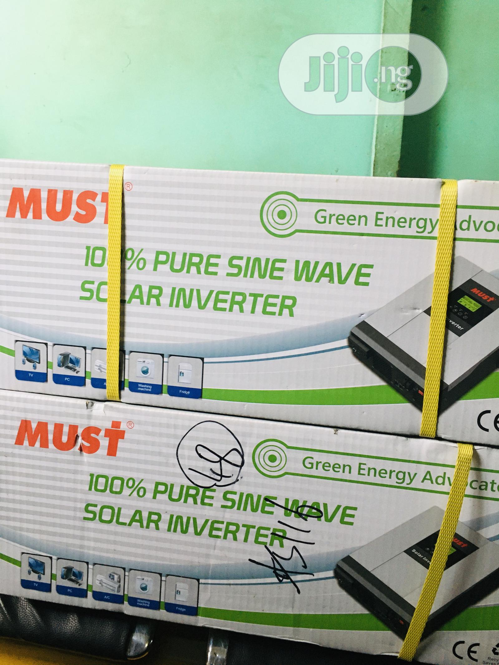 3kva 24v MUST Hybrid Inverter Is Available