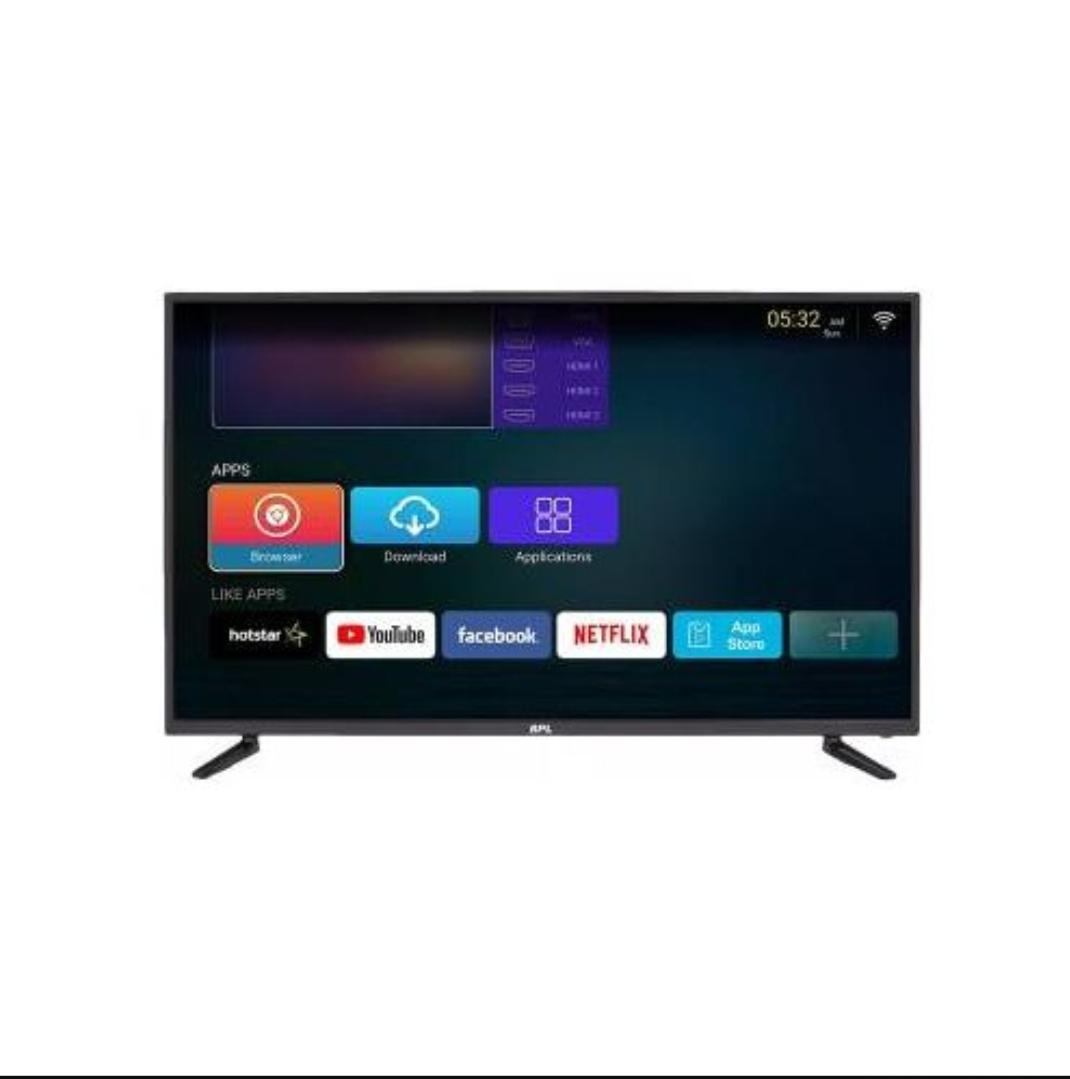 Alma 43inch Full HD Smart Android Television- Black