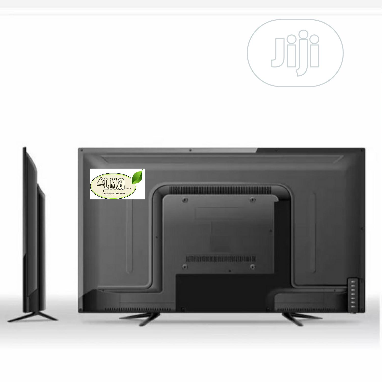 Alma 43inch Full HD Smart Android Television- Black | TV & DVD Equipment for sale in Lekki Phase 1, Lagos State, Nigeria