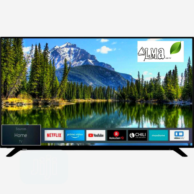 ALMA 43INCH Smart Full HD Television- Black Slim