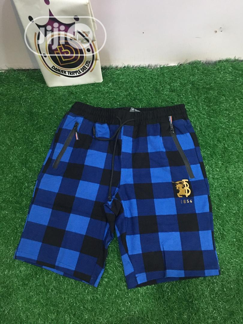 Fashion Men Quality Burberry Shorts