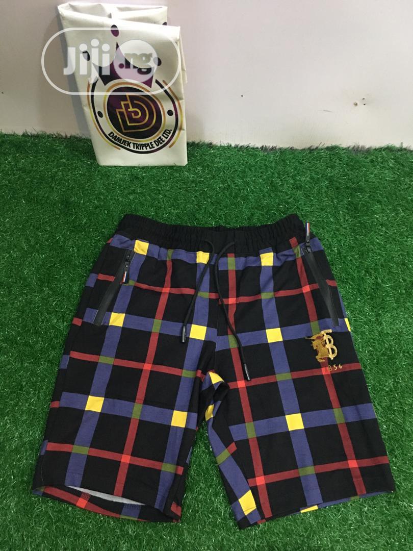 Fashion Men Quality Burberry Shorts | Clothing for sale in Ifako-Ijaiye, Lagos State, Nigeria