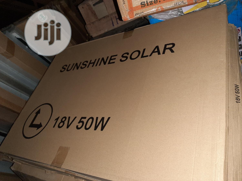 12V 50W Sunshine Solar Panels