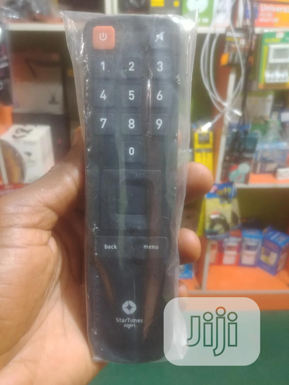 Original Startimes Remote Control | Accessories & Supplies for Electronics for sale in Ikotun/Igando, Lagos State, Nigeria