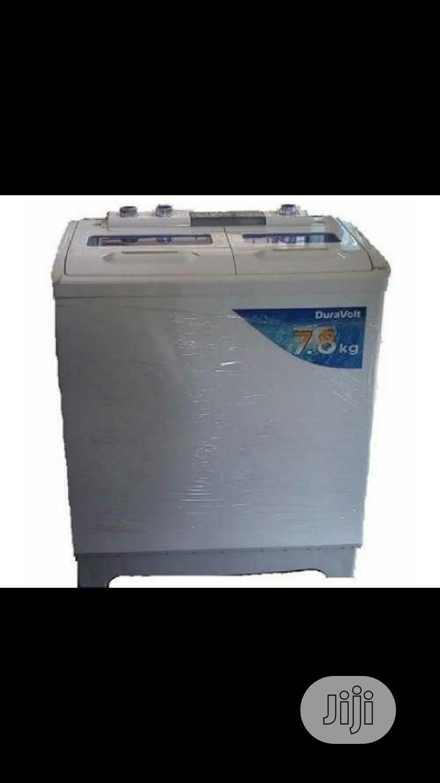 Archive: Duravolt 7.8kg Twin Tub Washing Machine (Dwm-7855)