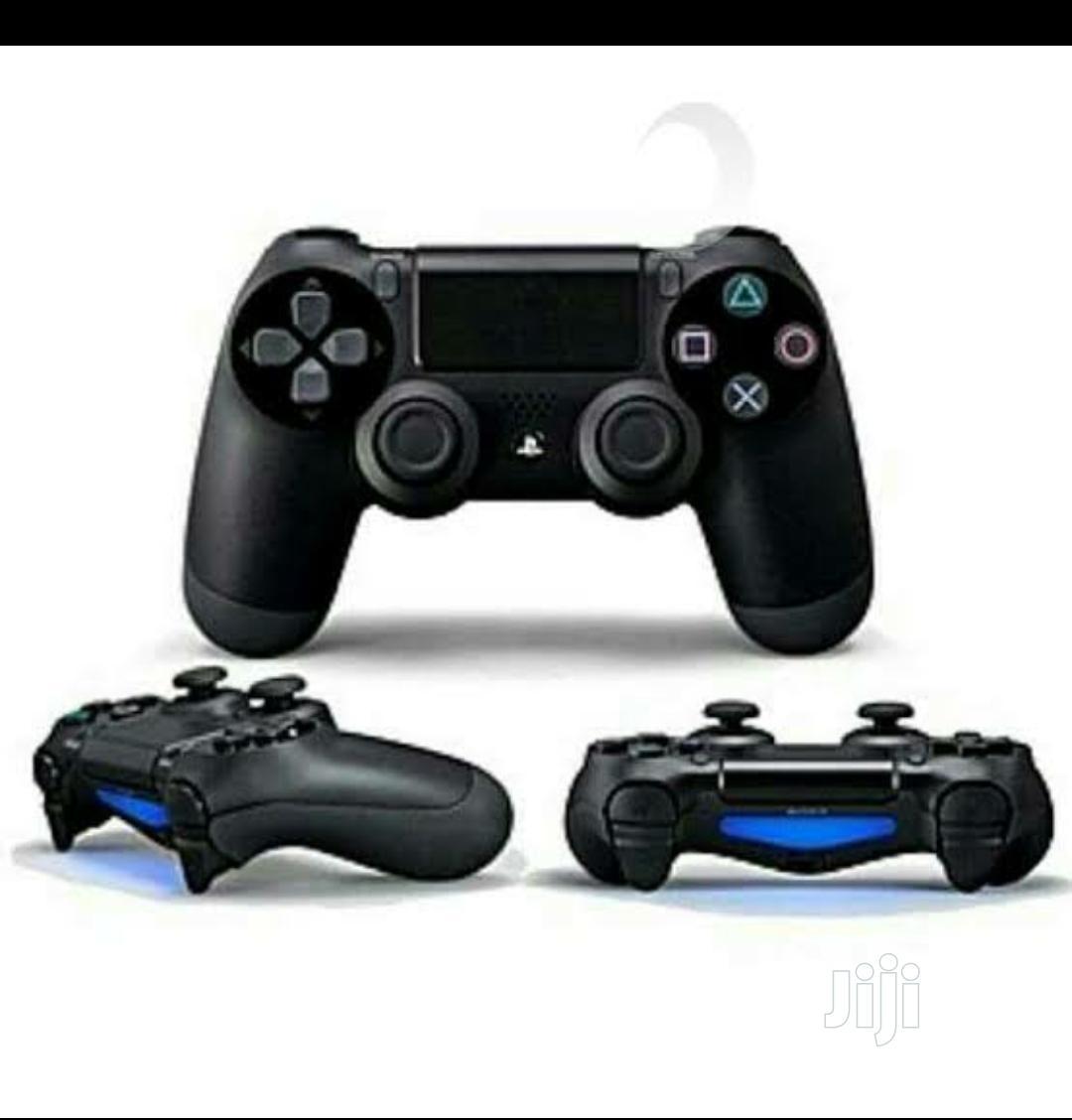 Ps4 Controller Pad Black