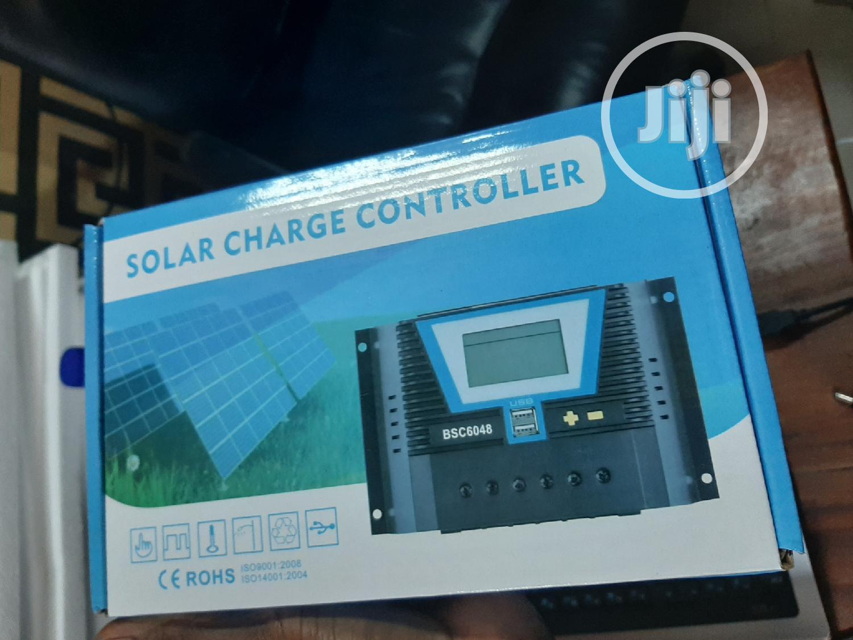 12V 24V 36V 48V 60A Pwm Solar Charge Controller