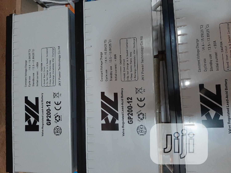 12V 200ah Kyc Solar Battery