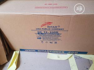 12V 200ah Ritar Solar Battery | Solar Energy for sale in Lagos State, Ojo
