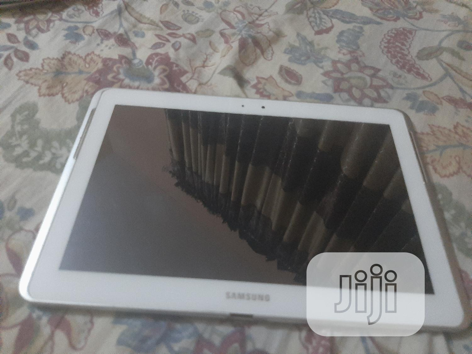 Samsung Galaxy Tab 10.1 16 GB White | Tablets for sale in Wuse, Abuja (FCT) State, Nigeria