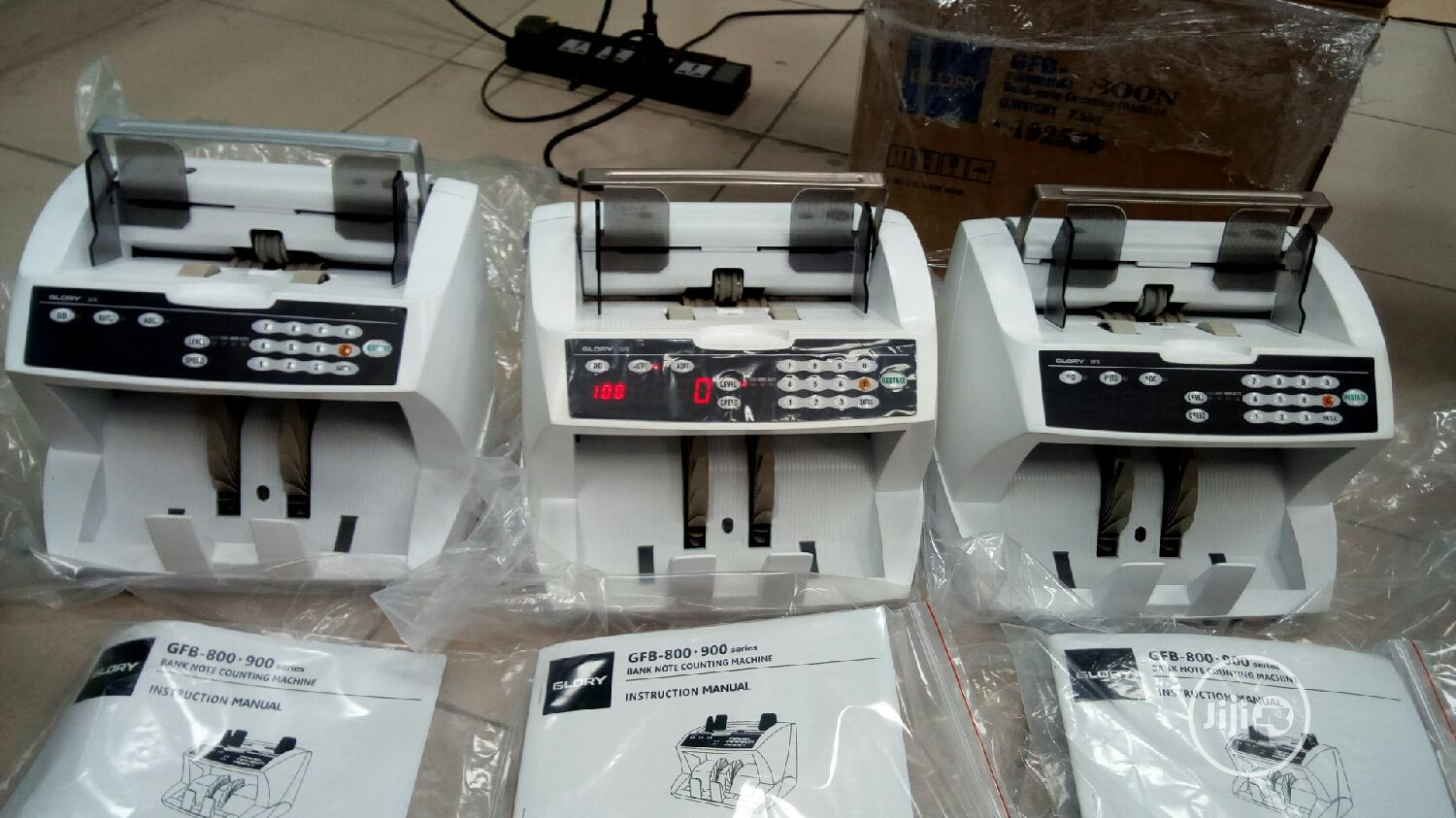 Brand New Imported Original Glory Note Counting Machine Model Gfb 800N