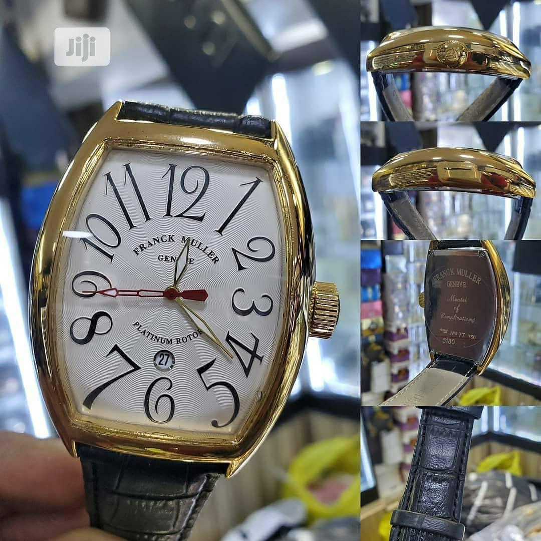 Franck Muller Leather Wristwatch
