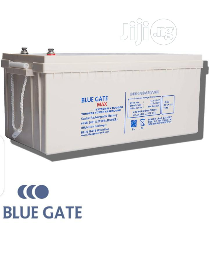 Bluegate 200ah/12V Max Deep Cycle Inverter Battery