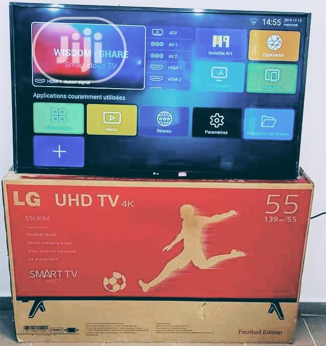 LG 55inches 4k Smart Television
