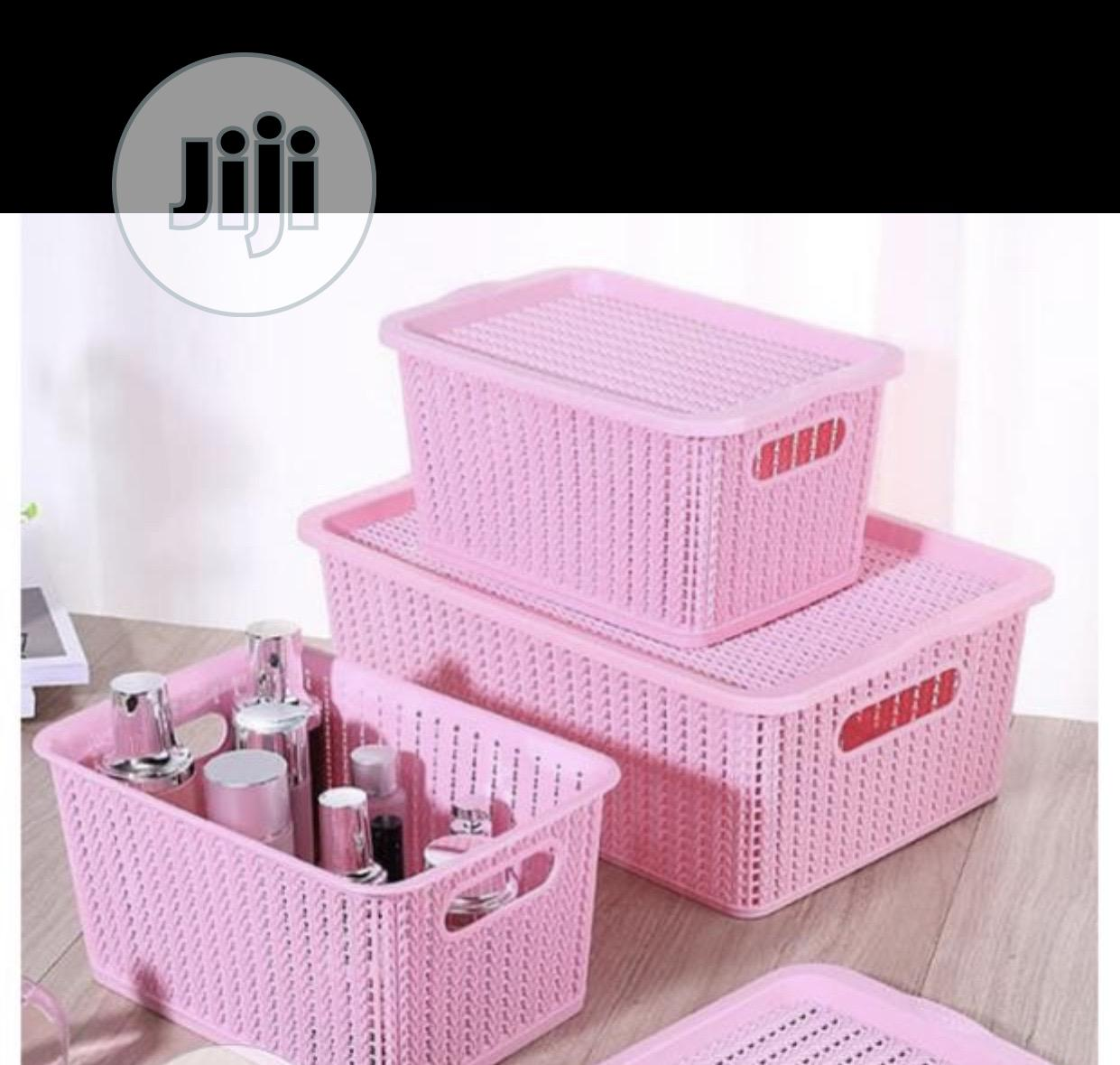 Archive: 3pieces Storage Basket