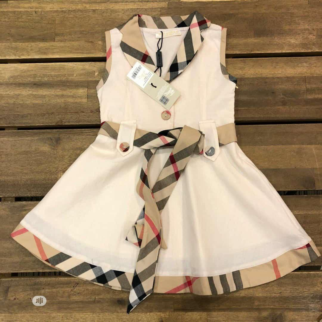 Burberry Gown | Children's Clothing for sale in Ojo, Lagos State, Nigeria
