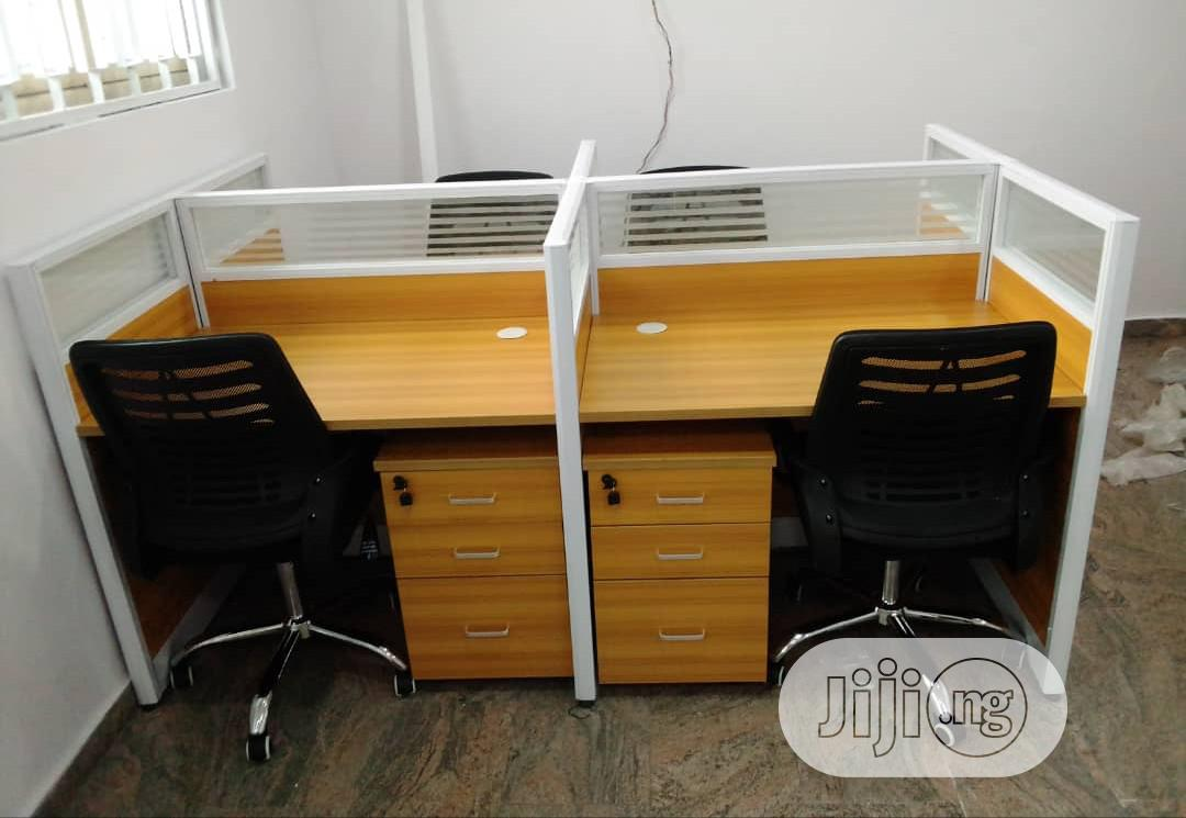 Brand New Office Workstation Table 4-Seater