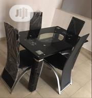 Reliable Glass Dining Table With Four Chairs | Furniture for sale in Lagos State, Lekki Phase 1