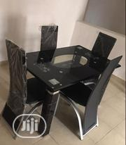 Glass Dining Table With Four Chairs | Furniture for sale in Lagos State, Maryland