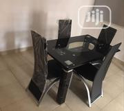 Affordable Glass Dining Table With Four Chairs | Furniture for sale in Lagos State, Mushin