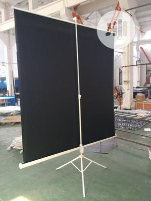 Jago Projection Standing Screen Self-retracting – Metal 10ftx6ft | Stationery for sale in Oyo State, Ibadan