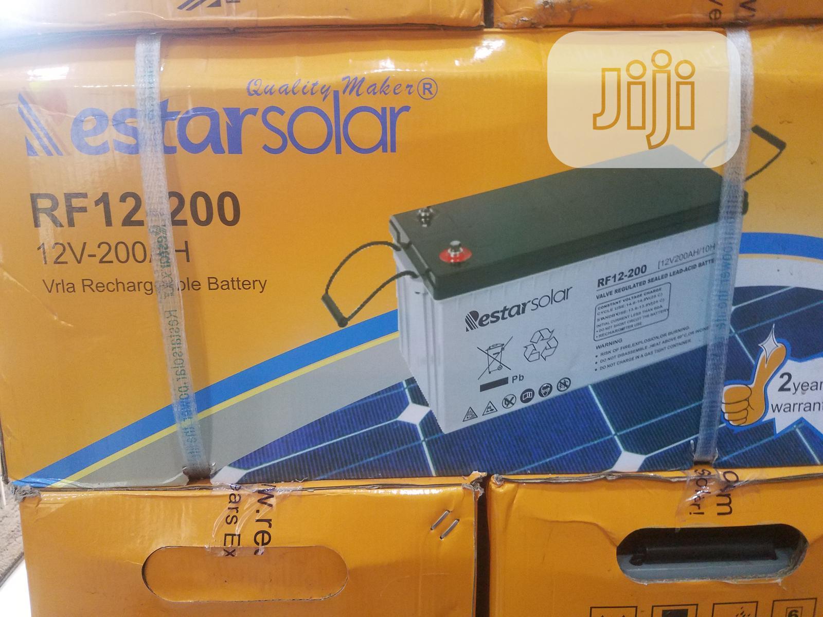 Restar Battery 12v/200ah