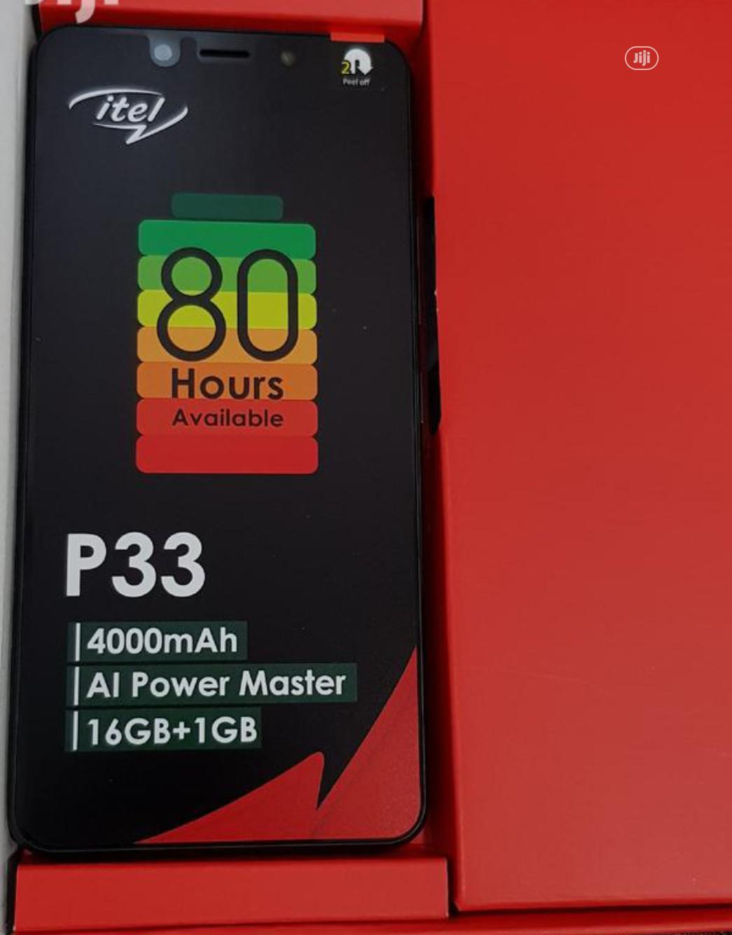 New Itel P33 16 GB