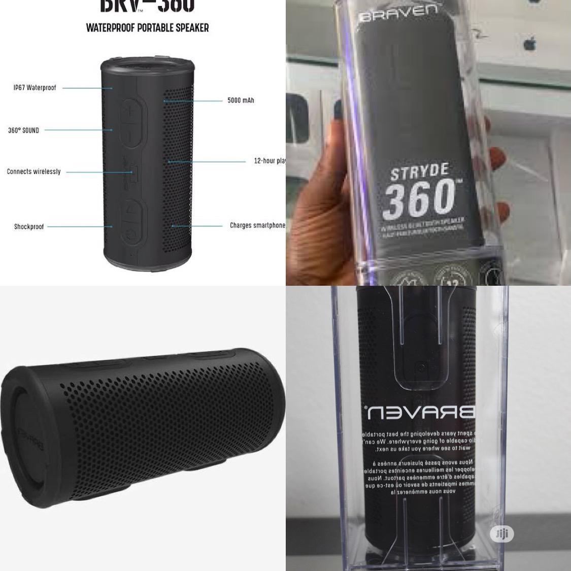 Archive: Braven Stryde 360 Degree Sound [2500 Mah] Waterproof Bluetooth Speaker