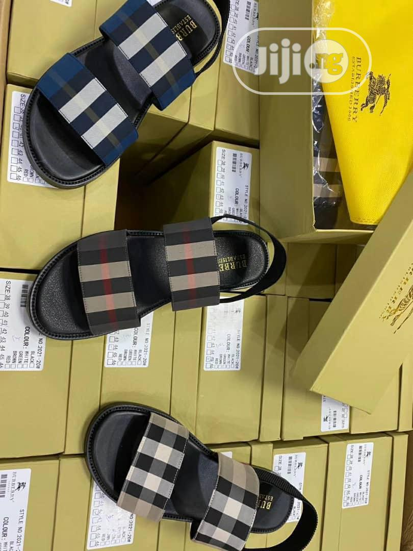 Burberry Sandals | Shoes for sale in Surulere, Lagos State, Nigeria