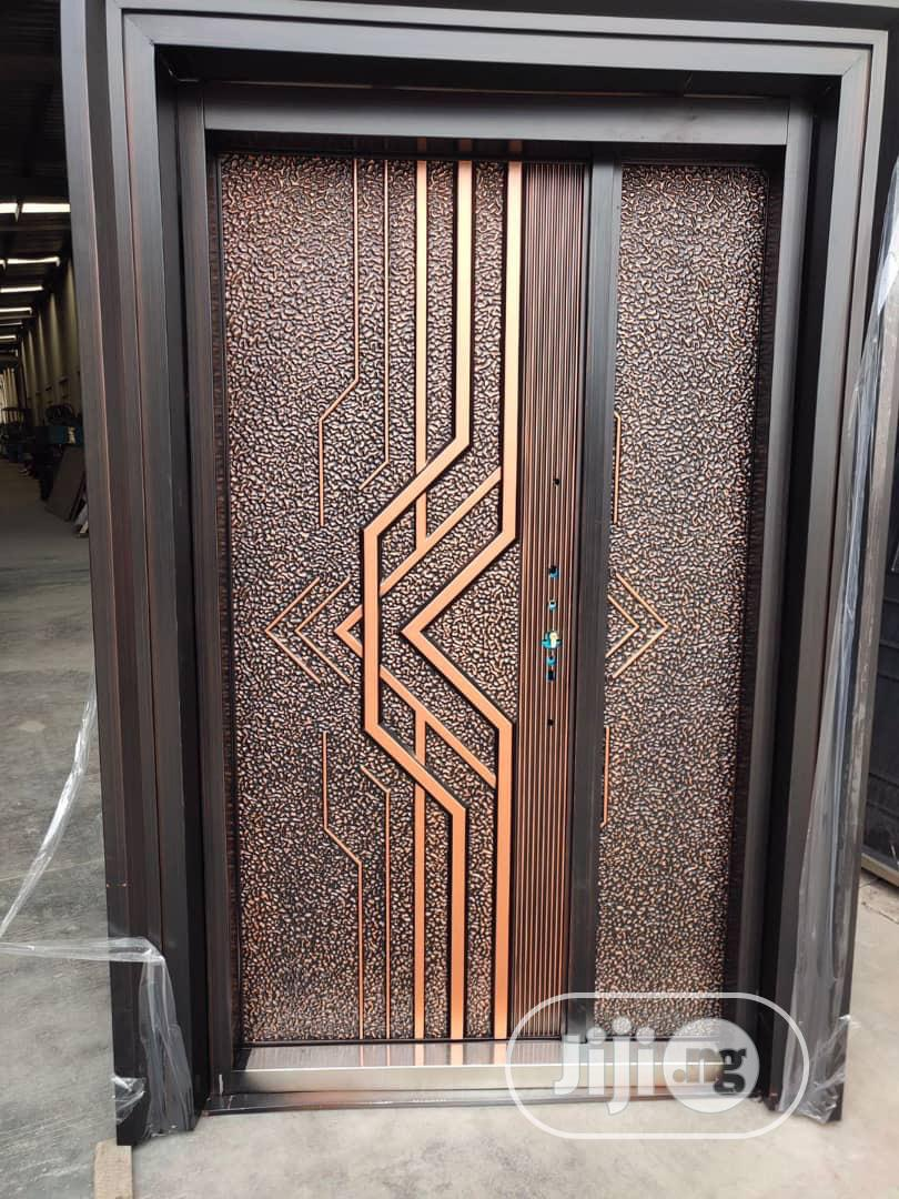 Security Doors Brown | Doors for sale in Asokoro, Abuja (FCT) State, Nigeria