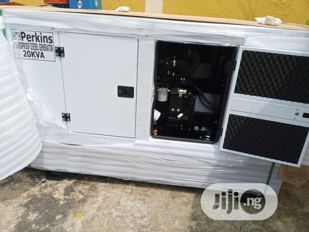 Perkins Soundproof Generator