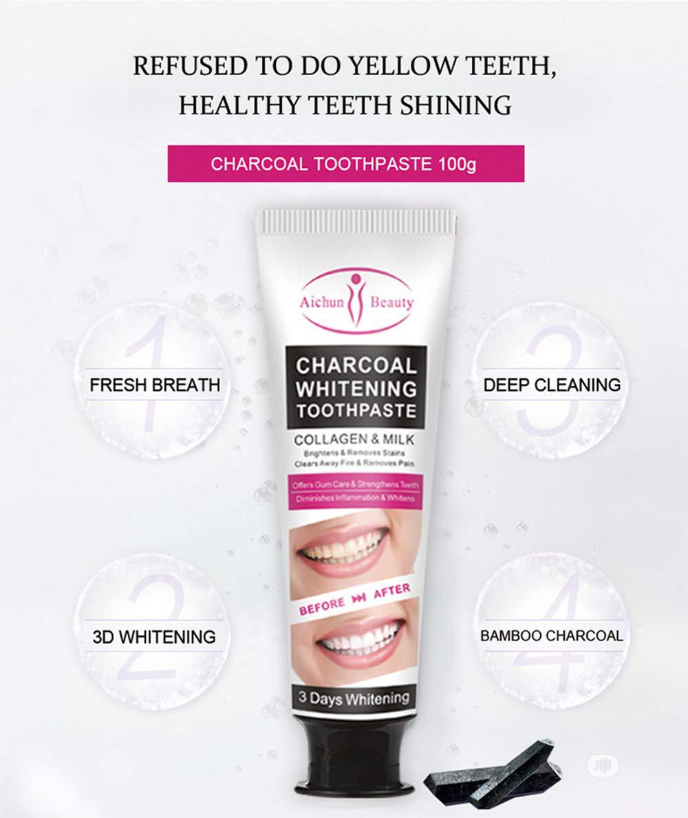 Aichun Charcoal Toothpaste Oral Cleansing Paste X12