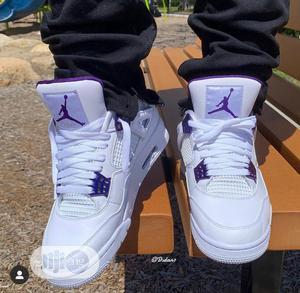"Air Jordan 4 ""Court Purple""   Shoes for sale in Lagos State, Lagos Island (Eko)"