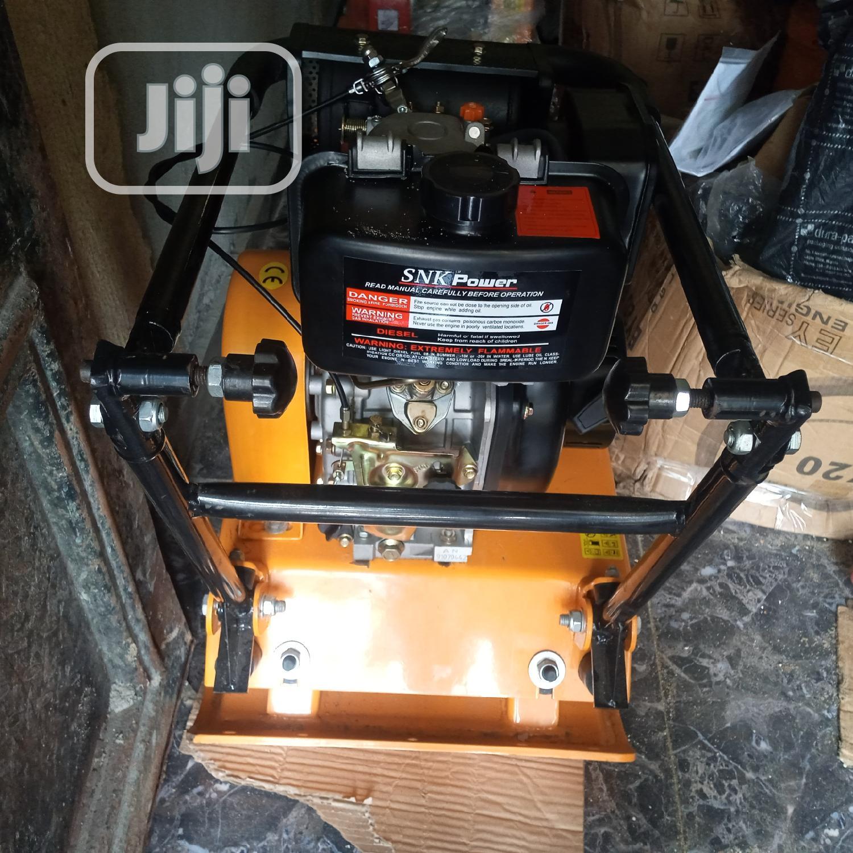 DIESEL Plate Compactor C90 S N K Power