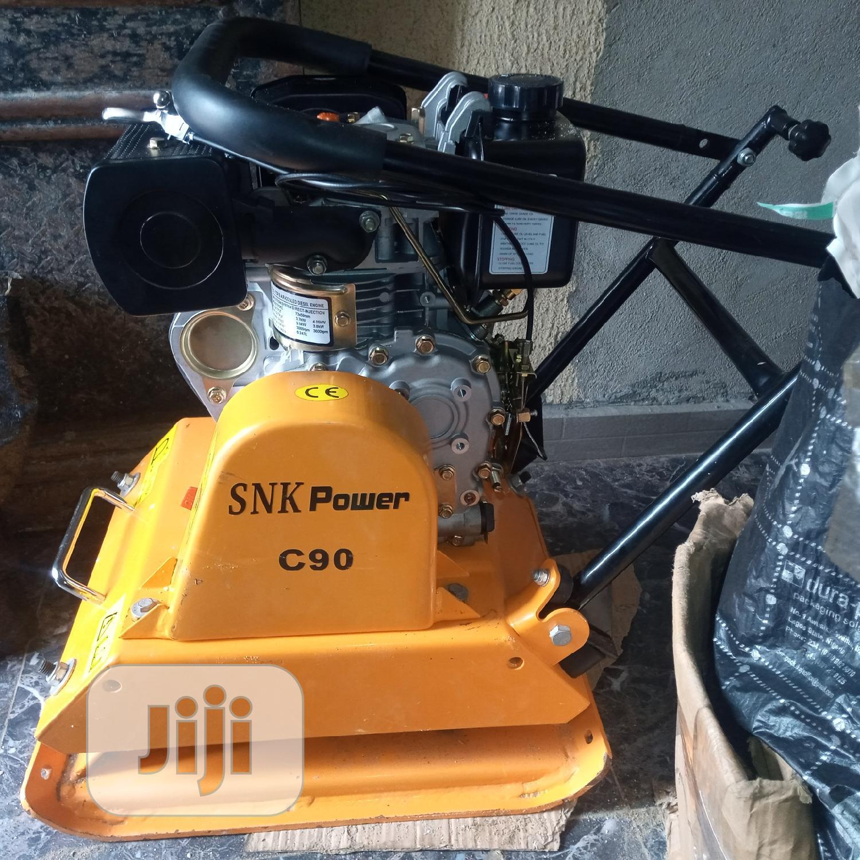 DIESEL Plate Compactor C90 S N K Power | Electrical Equipment for sale in Lagos Island, Lagos State, Nigeria